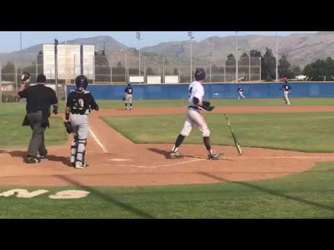 HR 5/10/18 -Peter Dufau, Camarillo Baseball Class of 2019