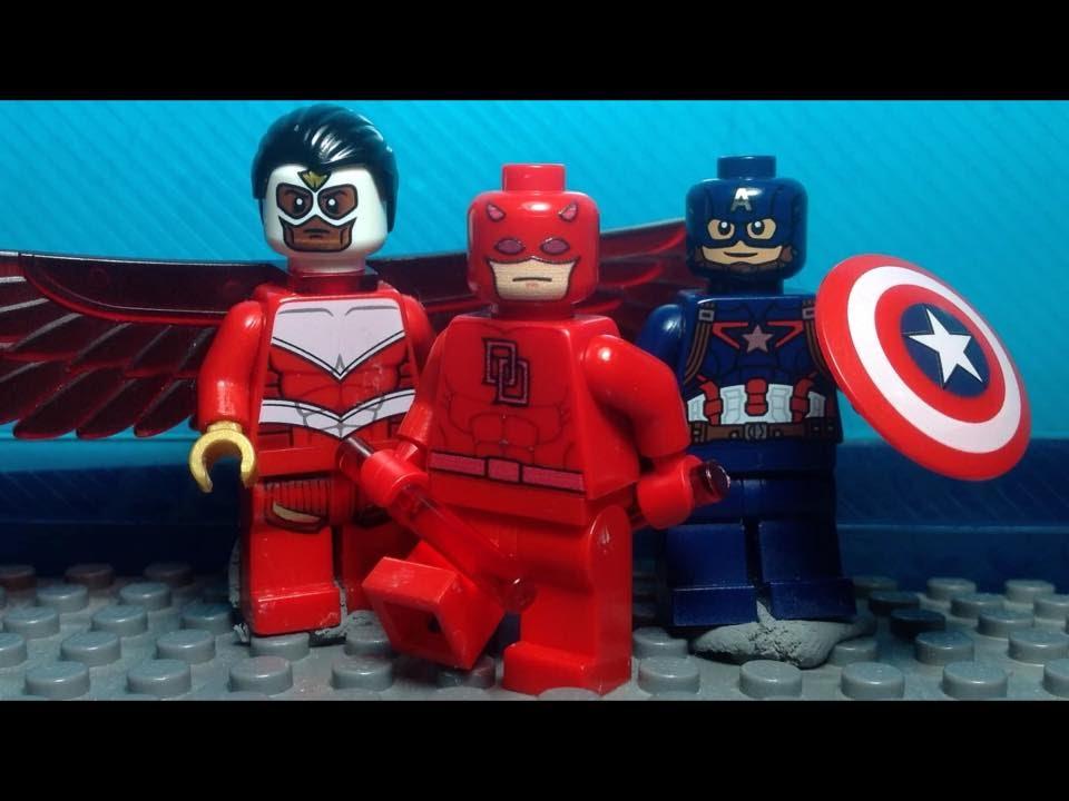 Lego Daredevil Youtube