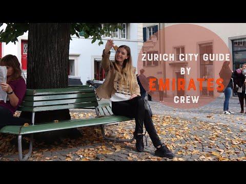 ZURICH CITY TOUR BY EMIRATES CABIN CREW 🍂🌾🍁