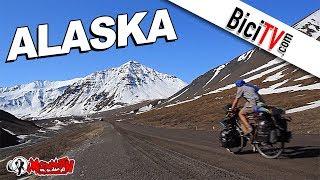 biciclown en alaska la vuelta al mundo en bicicleta