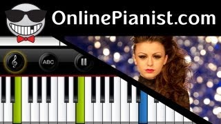 Cher Lloyd ft Mike Posner - With Ur Love (Easy) Piano Tutorial & Sheet Music
