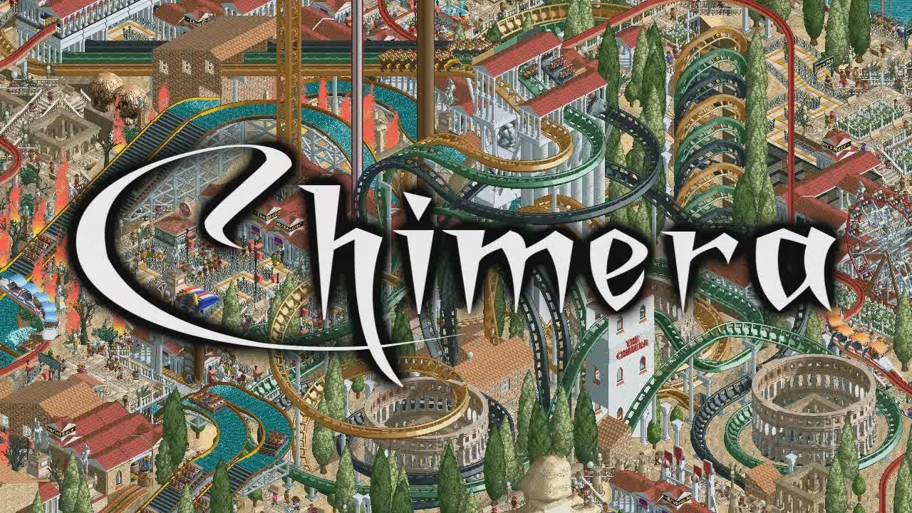 My RollerCoaster Tycoon 2 Contest Entry: Chimera *Won 1st place!*