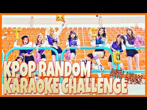 KPOP RANDOM KARAOKE CHALLENGE #3 [Chorus Ver]