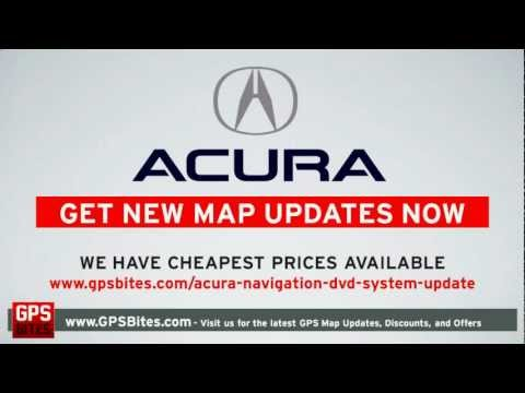 Acura Navigation DVD 2017 - Navigation System Updates For Acura GPS