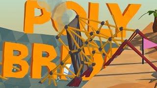 MES PONTS SONT TROP POURRIS! | Poly Bridge FR #3