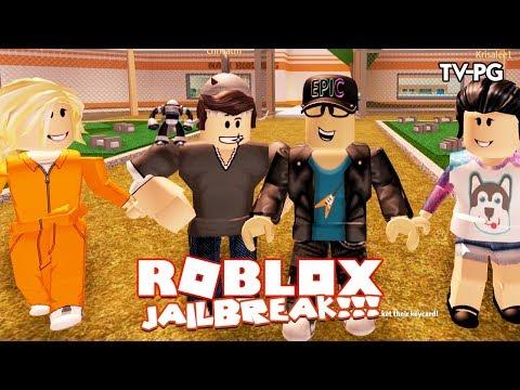 NEW CRIM CREW TAKING OVER TOWN!    Roblox JailBreak w/Chrisandthemike & Ashleyosity