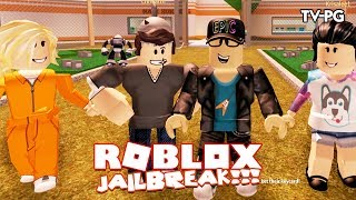 NOUVEAU CRIM ÉQUIPAGE TAKING OVER VILLE ! | Roblox JailBreak w/Chrisandthemike & Ashleyosity
