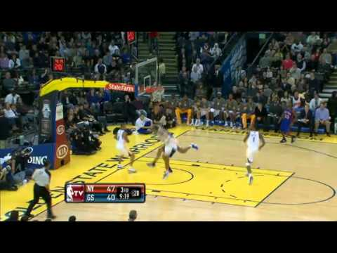 Brandon Rush block on Landry Fields