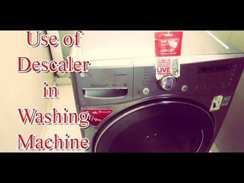 How To Use Descaler In LG Washing Machine