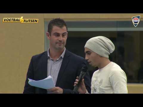 Abdelhak Nouri (Ajax) is ook een liefhebber van zaalvoetbal