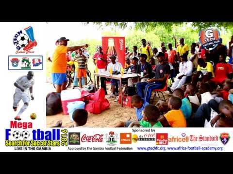 Mr Keno: G-Tech Football Academy Talks to Farafenni Young Football Players