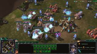Starcraft 2 Terran Tactics. Fast Marines And Moroders. Tactics #2