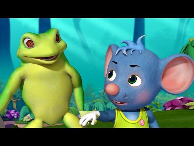 தவளையாரே தவளையாரே - Frog Song | Tamil Rhymes for Children | Infobells