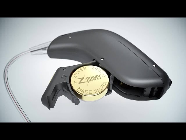 Oticon Opn™ Rechargeable – How-to guide on inserting batteries