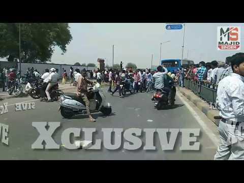 Bharat bandh 2 april 2018 || khodiyarnagar ahmedabad || Xclusive news
