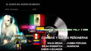 CUMBIA Y SALSA  5 TEMA A SABOR SONIDERA DEL BARRIO VOL.3