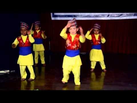 आउ है साथी, हेर साथी , राजा घोडा माथि  Nepali Children Song