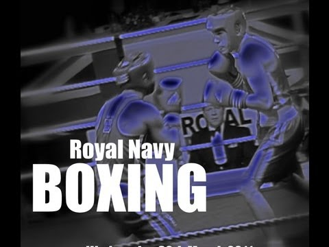 Royal Navy Boxing - HMS Raleigh - Charity Dinner Boxing show