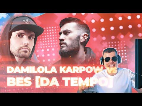 Damilola Karpow vs BES   7 Раунд   17 Независимый баттл hip-hop.ru
