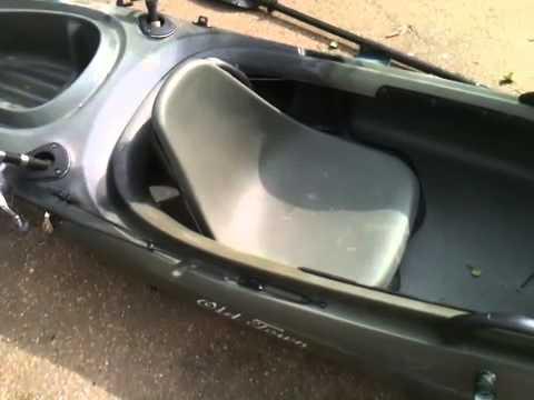 Old Town Vapor 10 Angler Kayak Setup