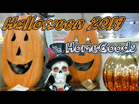 Halloween Decorations 2019  // HomeGoods Halloween decor