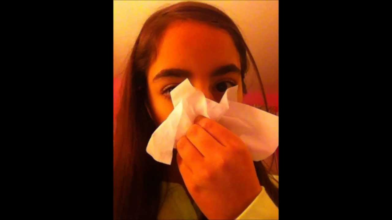 how to blow your nose youtube