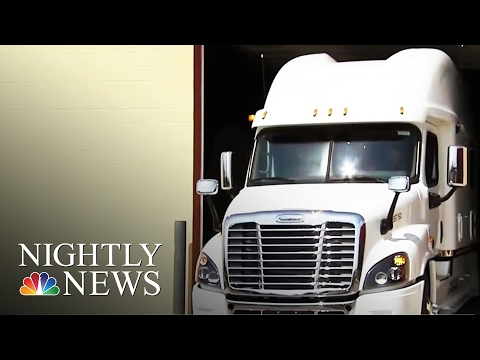 Luxury Big Rigs: The First-Class Life of Truck Drivers | NBC Nightly News