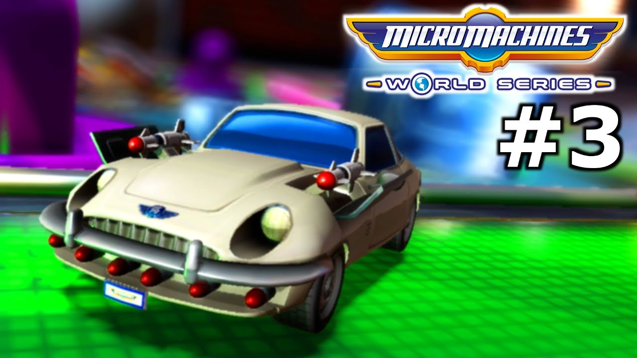 HEXAKILL! – MICRO MACHINES WORLD SERIES PS4 Pro Gameplay ...