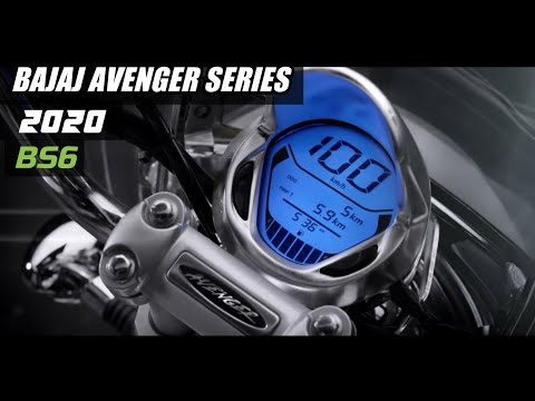 2020 Bajaj Avenger BS6 Street 160, Street 220 & Cruise 220 Launched In India | Price, Features