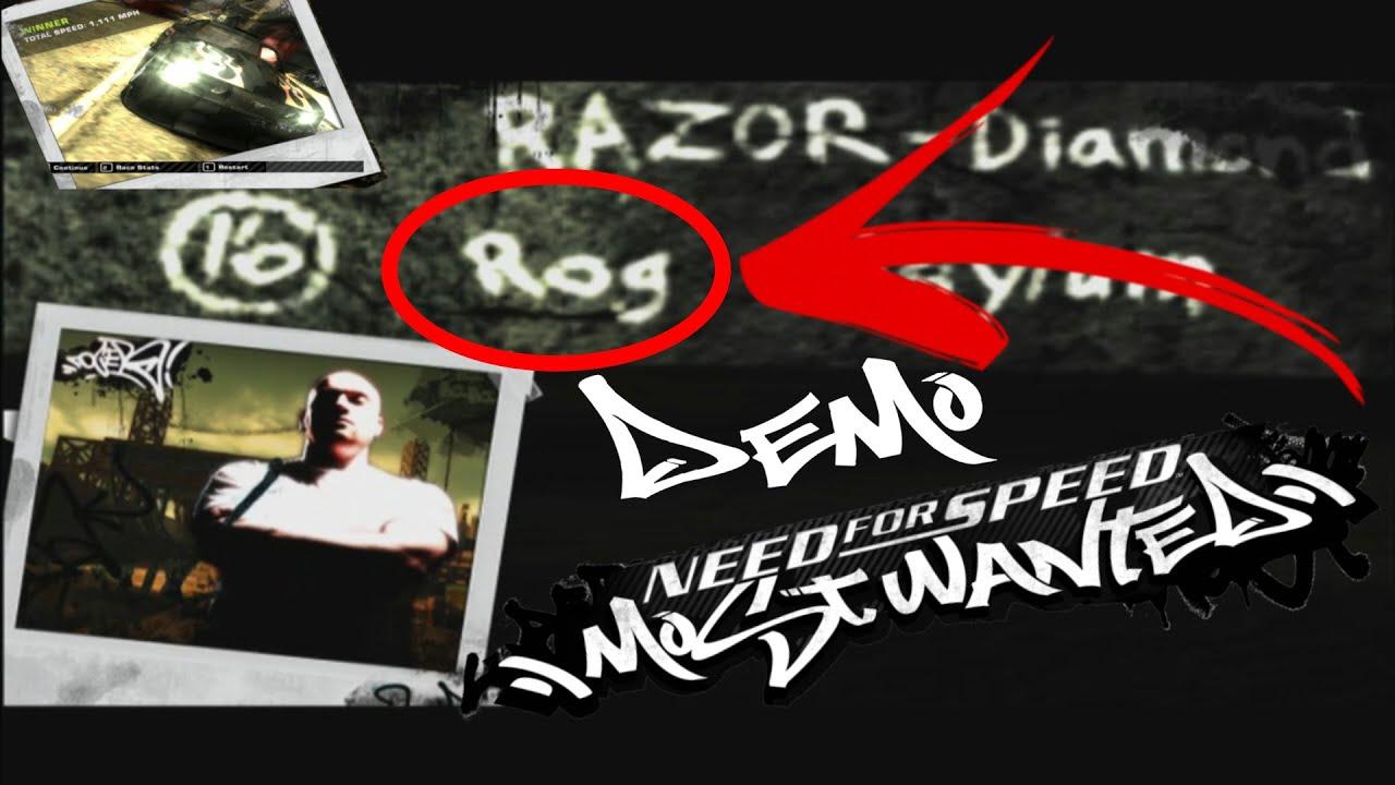 Demo de Need For Speed Most Wanted Y Como descargarlo | Asi se Veia el juego Antes de Salir