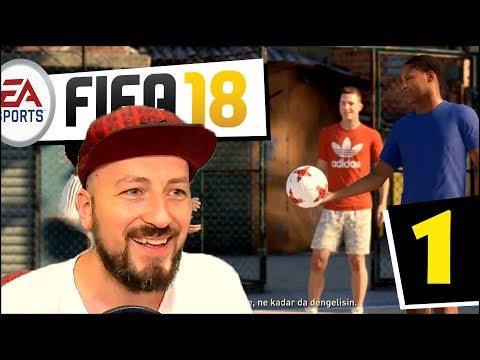 #1 ALEX HUNTER YENİDEN SAHNEDE! ⚽️ FIFA 18 YOLCULUK MODU