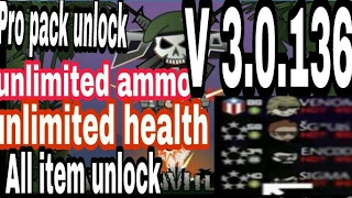 HACK MINI MILITA V3.0.136 WITH PRO PACK & TOOGLE MOD ALL THING'S UNLIMITED