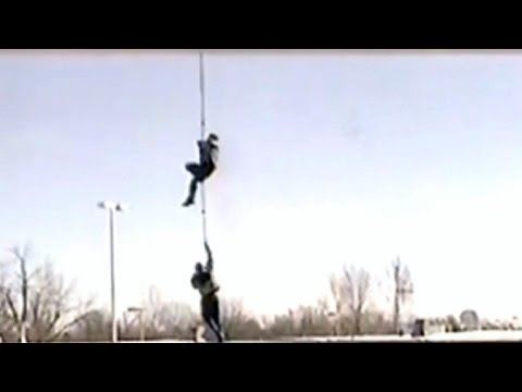Watch: Dramatic helicopter-assisted prison escape