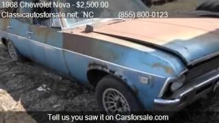 1968 Chevrolet Nova  for sale in Nationwide, NC 27603 at Cla #VNclassics