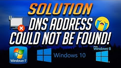 How to Fix Server IP/DNS Address Could Not Be Found [2020]