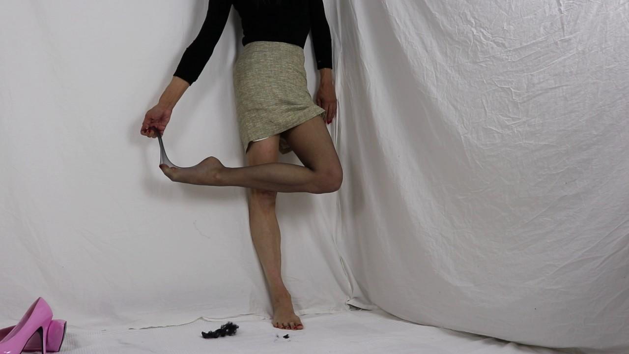 pantyhose stockings Ripped