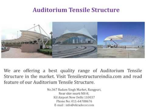 Affordable Tensile Structure Store - Tensilestructureindia.com