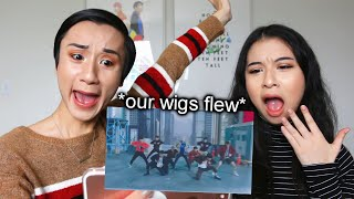 reacting to stray kids miroh music video (WIG FLEW)