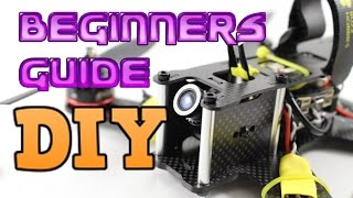 Beginners guide to Building an FPV racing quadcopter.