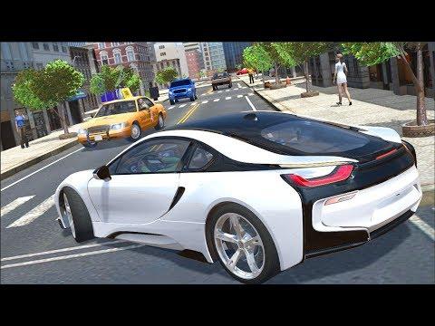 Supercar i8 / Sports Car Racing Game Drive Simulator / Android Gameplay FHD