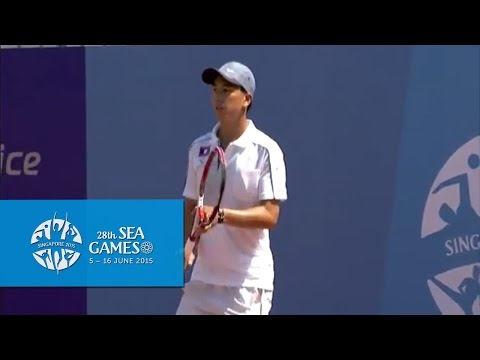 Tennis Men's Team Quarterfinal Indonesia vs Laos Match 2 (Da