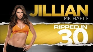 Ripped in 30 de Jillian Michaels Semana 4 completa / Routine week 4 full Jillian Michaels