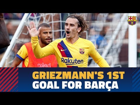 EXCLUSIVE CONTENT | Griezmann's first goal for Barça against Napoli