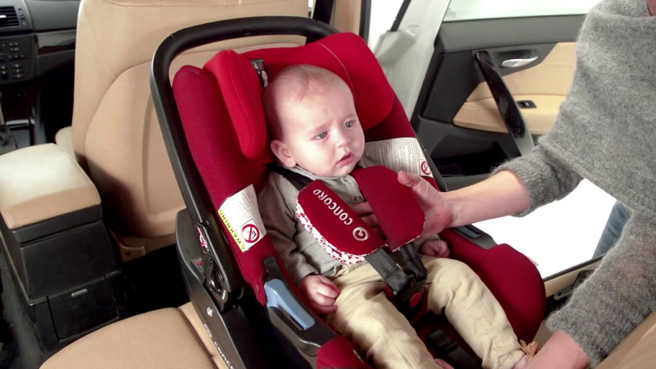 concord air safe car seat installation youtube. Black Bedroom Furniture Sets. Home Design Ideas