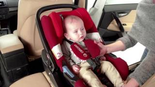 Concord Air Safe Car Seat Installation
