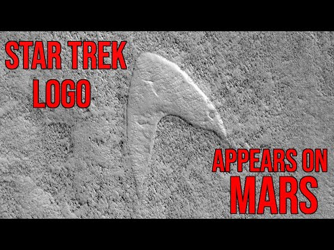 Star Trek Logo Spotted On Mars