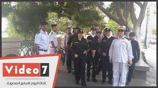 بالفيديو.. انتشار الشرطة النسائية بالحدائق فى ثانى أيام عيد الأضحى