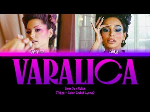 Sara Jo x Edita – Varalica – Tekst (Color Coded Lyrics)