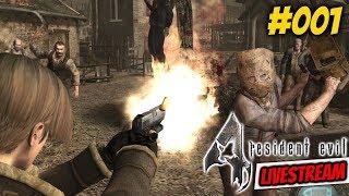 Resident Evil 4 [BioHazard 4] ► First Play Through Gameplay Live Stream #001 RE4