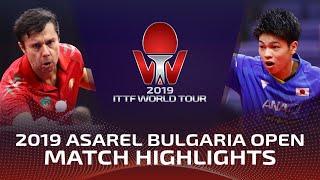 Владимир Самсонов vs Yuta Tanaka | Bulgaria Open 2019 (R32)